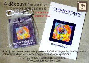 l oracle de Krystal carré zen nimes