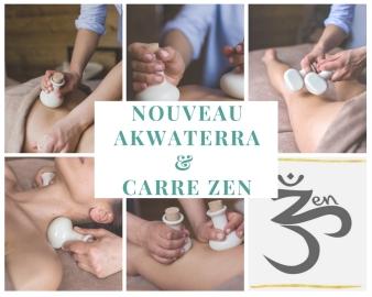 nouveau akwaterra & carre zen